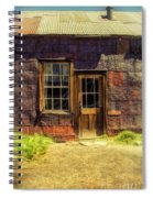 Old Shack Spiral Notebook