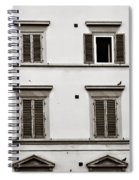 Old Shutters Spiral Notebook
