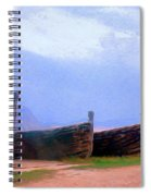 Old Sicilian Fishing Boats Spiral Notebook