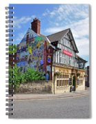 Old Silk Mill - Derby Spiral Notebook