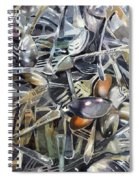 Old Silverware Spiral Notebook