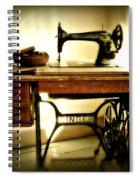 Old Singer Spiral Notebook