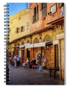 Old Souk Of Sidon Spiral Notebook
