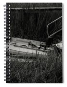 Old South Fishing Spiral Notebook
