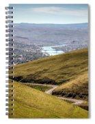 Old Spiral Highway To Lewiston Spiral Notebook
