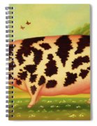 Old Spot Pig Spiral Notebook