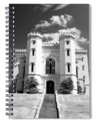 Old State Capital - Infared Spiral Notebook