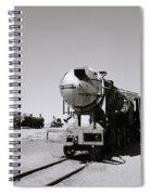 Old Steam Train Spiral Notebook