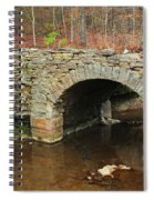 Old Stone Bridge In Illinois 1 Spiral Notebook