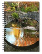 Old Stone Bridge Over Fountain Creek 2 Spiral Notebook