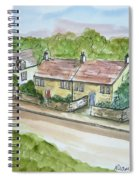 Old Stone Buildings Spiral Notebook