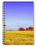 Old Stone Farmhouse Tuscany Spiral Notebook