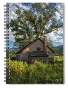 Old Stone Ranch Structure Spiral Notebook