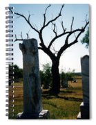 Old Stones In Old Cementery Spiral Notebook