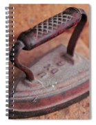 Old Stove Iron Spiral Notebook