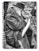 Old Street Painter Spiral Notebook