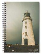 Old Style Australian Lighthouse Spiral Notebook