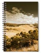 Old Summer Hills Spiral Notebook
