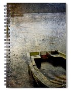 Old Sunken Boat. Spiral Notebook