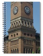Old Tacoma City Hall Spiral Notebook