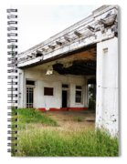 Old Texas Gas Station Spiral Notebook