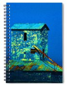 Old Texas Mill Spiral Notebook