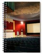 Old Theater Interior 1 Spiral Notebook