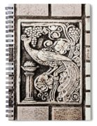 Old Theater Tilework Spiral Notebook