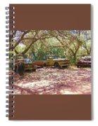 Old Time Trucks Spiral Notebook