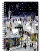Old Time Winter Spiral Notebook
