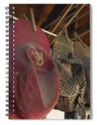 Old Timer's Garage Spiral Notebook