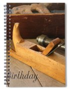 Old Tools Spiral Notebook