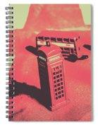 Old Tourism Uk Spiral Notebook