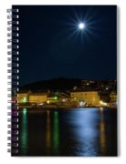 Old Town At Night Spiral Notebook