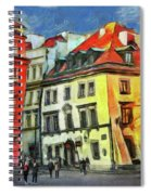 Old Town In Warsaw # 27 Spiral Notebook