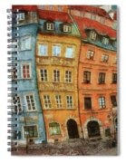 Old Town In Warsaw # 32 Spiral Notebook