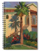 Old Town La Quinta Palm Spiral Notebook