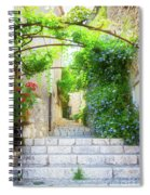 Old Town Of Provence Street Spiral Notebook