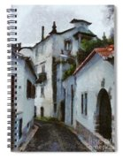 Old Town Street Spiral Notebook