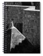 Old Town Walls Spiral Notebook