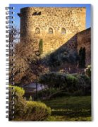 Old Town Walls Toledo Spain Spiral Notebook