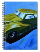 Old Toy Car Spiral Notebook