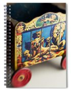 Old Toy Spiral Notebook