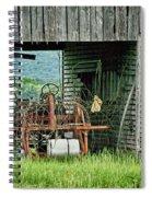 Old Tractor - Missouri - Barn Spiral Notebook