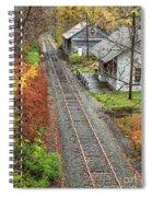 Old Train Station Norwich Vermont Spiral Notebook