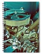 Old Truck Engine Spiral Notebook