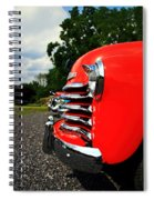 Old Truck Grille Spiral Notebook