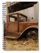 Old Truck In Old Forgotten Places Spiral Notebook