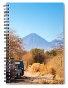 Old Truck In San Pedro De Atacama Spiral Notebook
