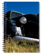Old Truck Low Perspective Spiral Notebook